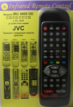 IRC-0805 DD  [JVC TV, VCR]