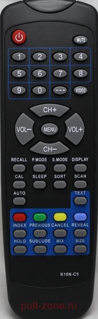 K10N-C5 пульт для телевизора неоригинальный.