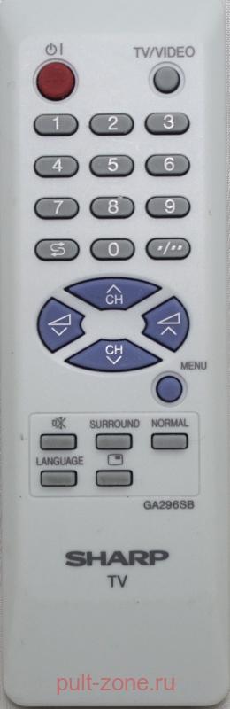 SHARP телевизор 21J-FV1RU.  Аппаратура.
