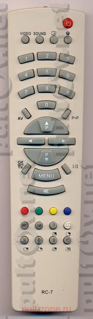 телевизор рубин как включить кнопки на передней панели