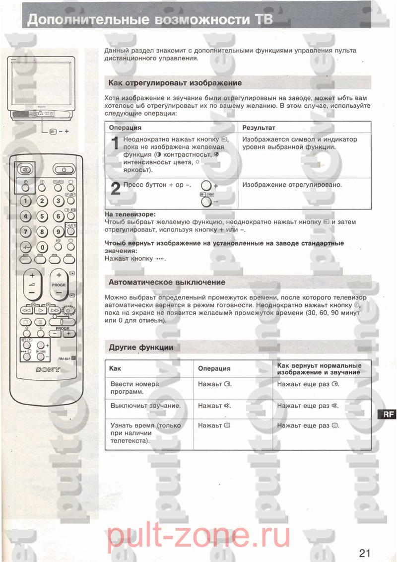 Инструкция Универсальный Пульт Mak Maxim